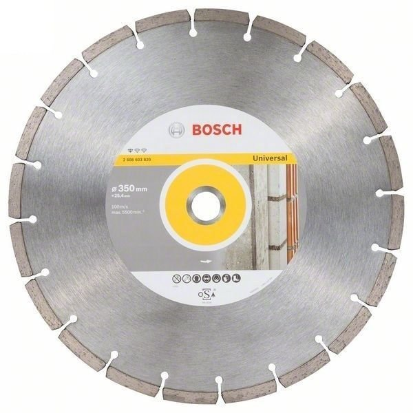 Диск алмазный 350*25,40мм Eco for Universal BOSCH