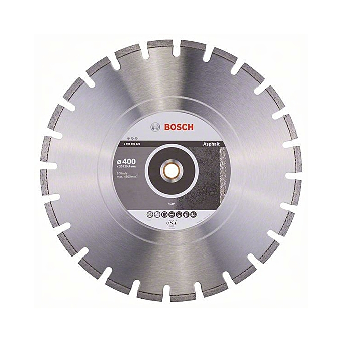 Диск алмазный 400*25,40*3,2*10мм Standart for Asphalt BOSCH по асфальту
